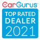 2021 CarGurus Top Rated Dealer!
