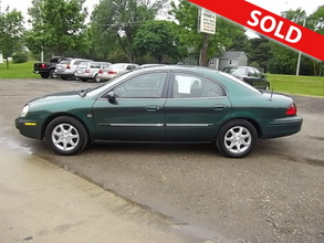 2000 Mercury Sable LS 4 Door Sedan