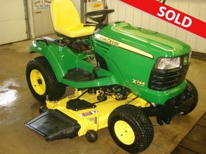 2008 Other Other John Deere X744 AWS Lawn Tractor & Mower