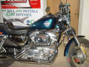 2002 Motorcycle Harley Davidson XLH 883 Sportster