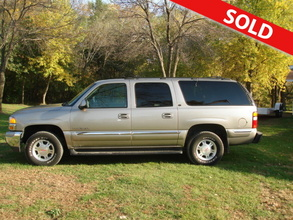 2001 GMC Yukon XL SLT 4 Door 4x4 with Third Row Seat